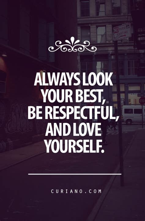 Quotes About Girls Respecting Themselves