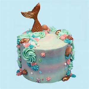 Mermaid Cake - Heaven is a Cupcake - St Albans