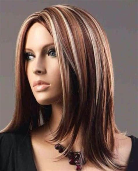 hair with colored highlights best 25 hair color with highlights ideas on