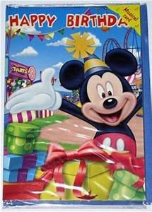 Happy Birthday Maus : geburtstagskarte mit musik happy birthday mickey maus kinder geburtstag ebay ~ Buech-reservation.com Haus und Dekorationen