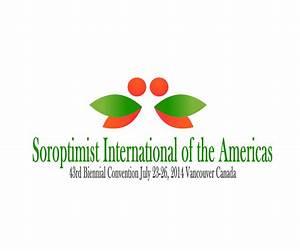 Playful, Feminine Logo Design for Soroptimist ...