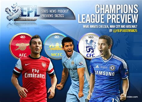 Champions League Preview: What Awaits Chelsea, Man City ...
