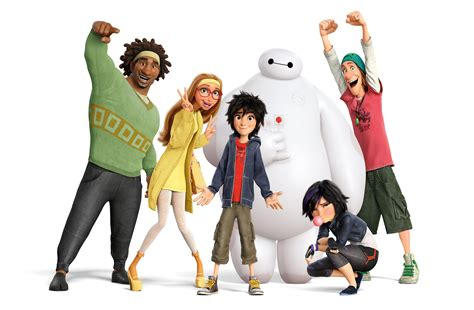 new trailer for big hero 6 the arcade