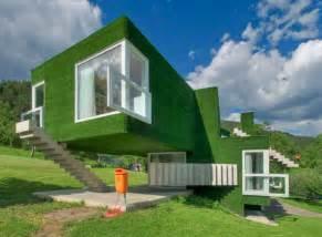 Strange Shaped House