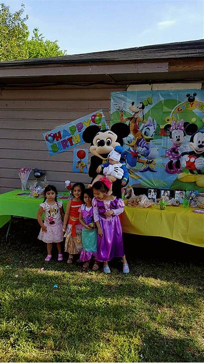 Mouse Mascot Birthday Character Party Characters Costumed