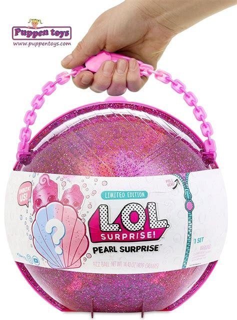lol pearl surprise  ball giochi mga juguetes puppen toys
