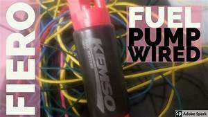 Wiring Up Fuel Pump From Scratch Fiero