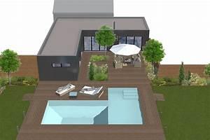 Escalier Sweet Home 3d : am nagement ext rieur au bouscat nouvelles substances ~ Premium-room.com Idées de Décoration