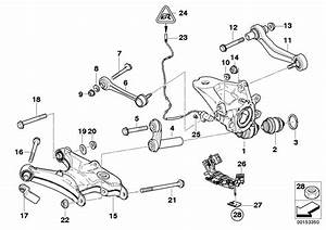 Bmw X5 Guiding Suspension Link  Rear  Axle - 33326774796