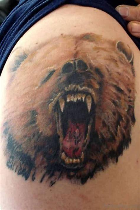 lovely brown ink tattoos  shoulder