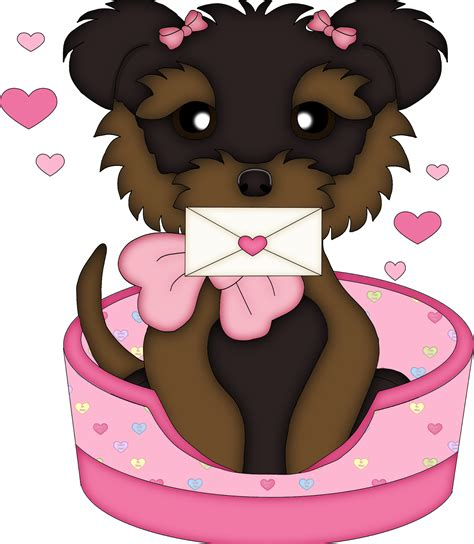 cute valentines dogs clipart   fiesta  english