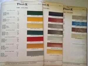 Sell Original 1940 Gmc Colors
