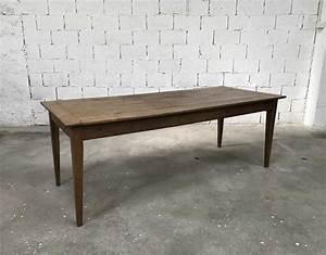 Table Ancienne De Ferme : ancienne table de ferme pieds fuseaux en ch ne massif n 004 ~ Teatrodelosmanantiales.com Idées de Décoration