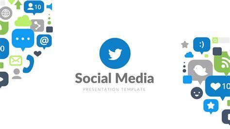 social media powerpoint template social media pro free powerpoint template presentations powerpointify