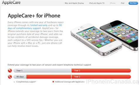 apple care iphone applecare now available in canada for the iphone for 99