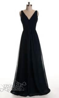 black dresses for bridesmaids black low v neck bridesmaid dresses dvw0127 vponsale wedding custom dresses