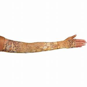 LympheDivas Adele Compression Arm Sleeve And Gauntlet