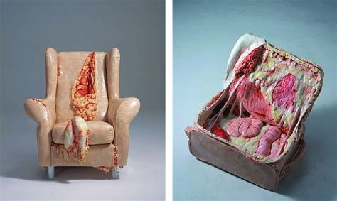 creepy fleshy art  cao hui   painfully clear