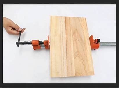 Clamp Pipe Woodworking Handle Stand Fixture Type