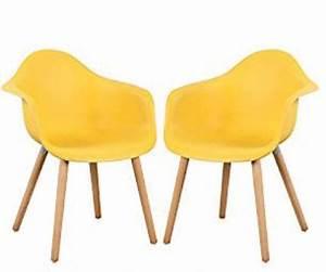 Chaise Scandinave Jaune : choisissez votre chaise scandinave jaune ~ Teatrodelosmanantiales.com Idées de Décoration