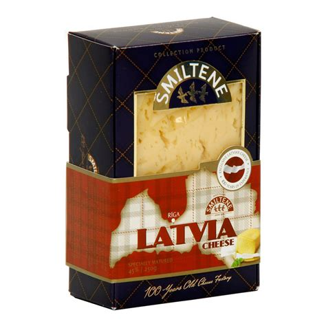Cheese SMILTENES PIENS Latvijas Premium 45% 250g   Free ...