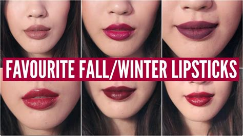 winter lipstick colors top favourite fall winter lipsticks 2015