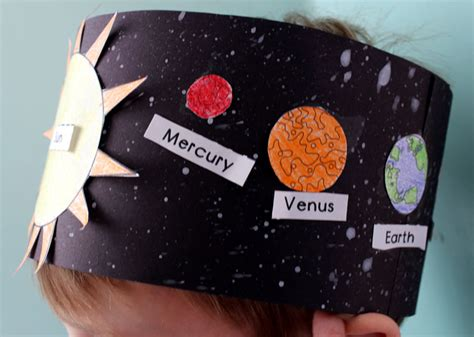 solar system hat activity for kindergarten primary theme 458 | solarsystemhat3