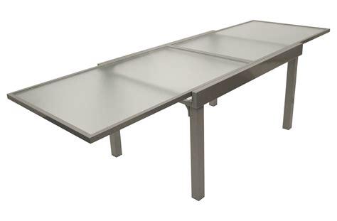 gartentisch ausziehtisch gartenmoebel tisch glastisch