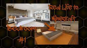 minecraft real life to minecraft bedroom 1 youtube