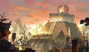 Mayan Civilization, Gao ZhingPing on ArtStation at https ...