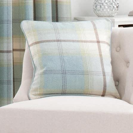 Upholstery Foam Dunelm Mill by Duck Egg Highland Check Cushion Dunelm Home Decorating