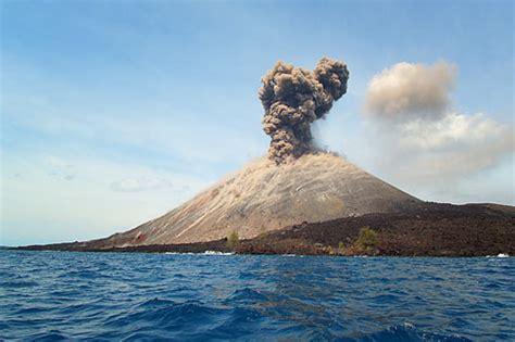mount krakatau  lampung