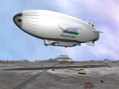 Airship Concept Art and Future Development Projects ...