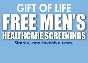 Gift of Life FREE Men's Health Care Screenings