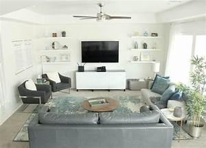 Cozy, Modern, Living, Room