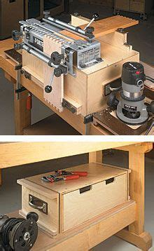 portable dovetail jig workcenter woodworking projects