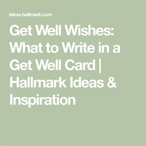And if you have a new baby, people will understand if it takes that long or longer. Get well wishes: what to write in a get-well card   Get well wishes, Get well cards, Well wishes ...