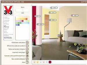 simulation peinture v33 simulateur peinture murale With choix couleur peinture mur 0 peinture mur exterieur les conseils peinture pour vos