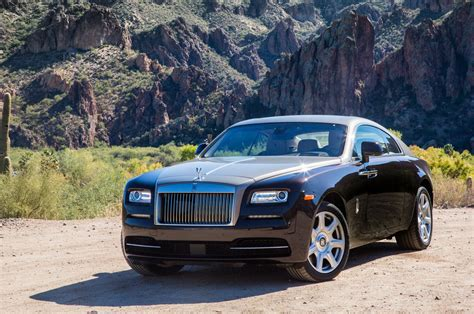 2018 Rolls Royce Wraith Driver Front Three Quarters Photo