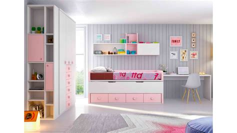 chambre fille f馥 chambre fille complète à personnaliser girly glicerio so nuit