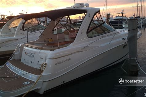 Boat Renting In Chicago by Rent A 2012 40 Ft Four Winns Boats 378 Vista In Chicago