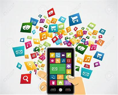 Applications Apps Clipart Mobile Smartphone Icon Application