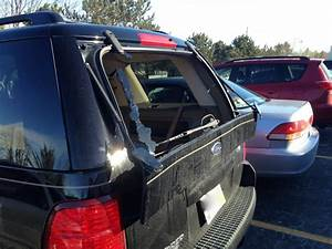 2004 Ford Explorer Cracked Panel Below The Rear Window  755 Complaints