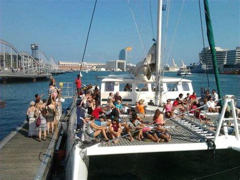 Catamaran Barcelona Tripadvisor by Boarding The Orsom Catamaran Picture Of Catamaran Orsom