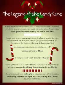 Printable Candy Cane Legend Poem