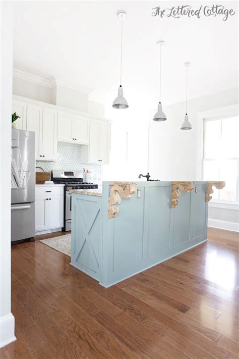 simply white kitchen cabinets kitchen update island makeover the lettered cottage 5251