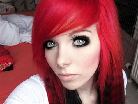 Hair Color Black And Red 18 Free Wallpaper
