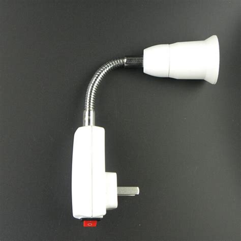 ceiling fans that plug into light socket e27 plug l base led light bulb socket 20cm extend