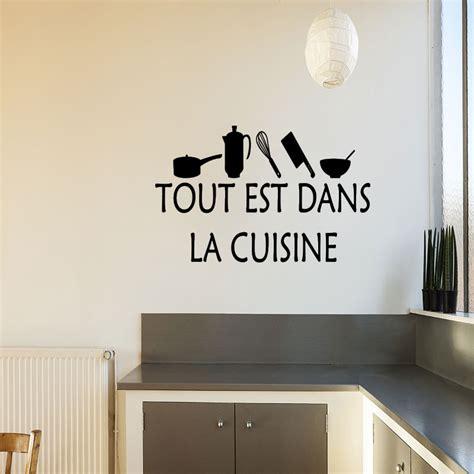cuisine est sticker cuisine tout est dans la cuisine stickers