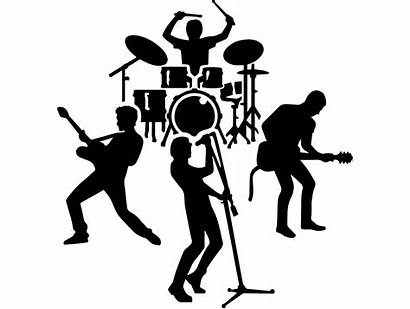 Band Rock Metal Heavy Singer Stage Clipart